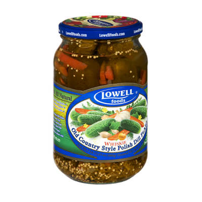Lowell Foods Old Country Style Polish Dill Pickles