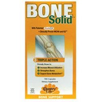 Bone Solid 180 Vcap By Country Life Vitamins (1 Each)