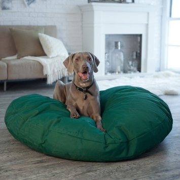 Snoozer Gunmetal 100% Polyester Round Dog Bed 76025