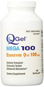 Tishcon Corp Q-Gel Hydrosoluble Coenzyme Q10 100mg 180ct.