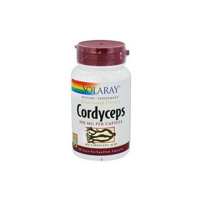 Solaray Cordyceps Extract - 500 mg - 60 Capsules
