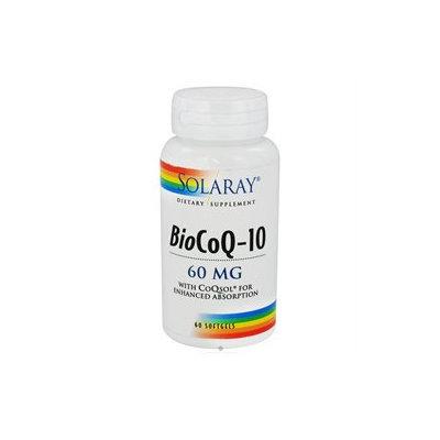 Solaray BioCoQ-10 - 60 mg - 60 Softgels