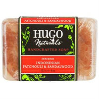 Hugo Naturals Bar Soap Sensuous Indonesian Patchouli and Sandalwood - 4 oz