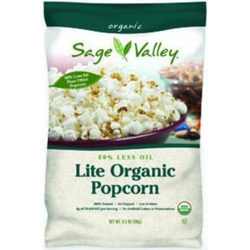 Sage Valley Popcorn, 50% Less Oil, 3.5-Ounce (Pack of 12)