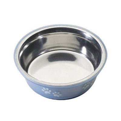 Ethical Pet Products (Spot) DSO6123 16-Ounce Fusion Designer Stainless Steel Dog Bowl, Small, Blue