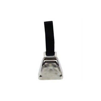 Coastal Pet Products DCPR4511CLG Remington Nickel Cow Bell Large