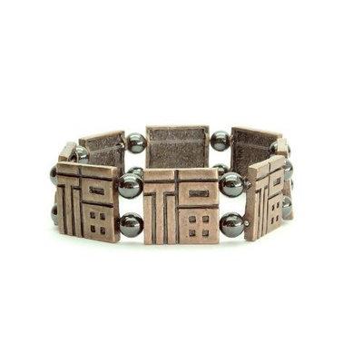 Serenity 2000 Aztec Magnetic Bracelet (4000 Gauss) - 1 bracelet