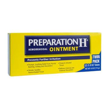 Preparation H Ointment, 2 Oz, 2-Pk