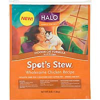 Phillips Feed & Pet Supply Halo Spot's Stew Indoor Cat Wholesome Chicken Recipe