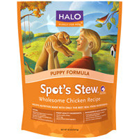 Halo Spot's Stew Dry Puppy Food Chicken 10 lb. Bag