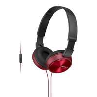 Sony On-the-Ear Headphones for Smartphones - Red (MDRZX310AP/R)