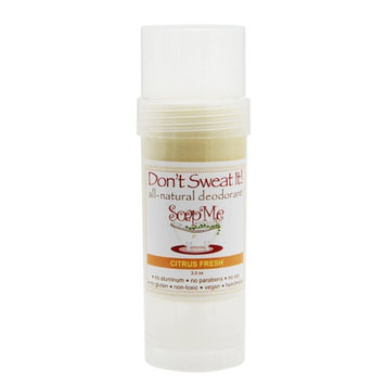 SoapMe with Nature Don't Sweat It! All-natural deodorant Citrus Fresh