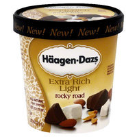 Haagen-Dazs Extra Rich Rocky Road Ice Cream