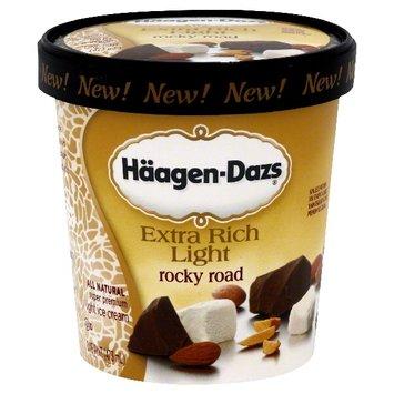 Haagen Dazs Ice Cream Rocky Road
