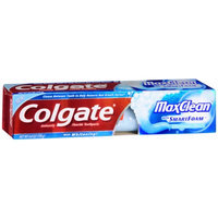 Colgate MaxClean SmartFoam with Whitening  Anticavity FluorideToothpaste
