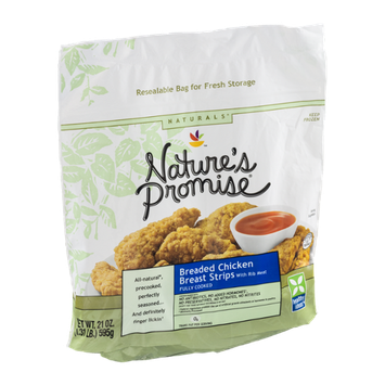 Nature's Promise Naturals Breaded Chicken Breast Strips