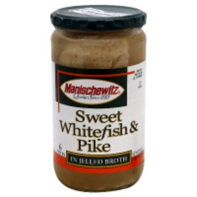 Manischewitz Whitefish & Pike in Jelled Broth (24 oz.)