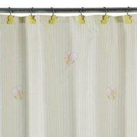 Tiddliwinks Duckie Stripe Shower Curtain