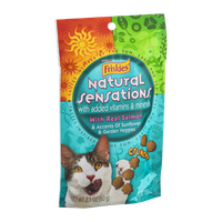 Purina Friskies Natural Sensations Cat Treats With Real Salmon