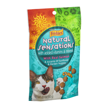 Friskies® Natural Sensations Cat Treats With Real Salmon