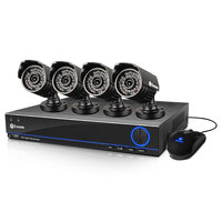 David Shaw Silverware Na Ltd Swann SWDVK-832004S-US 8 Channel 960H DVR with 4 PRO-642 Cameras