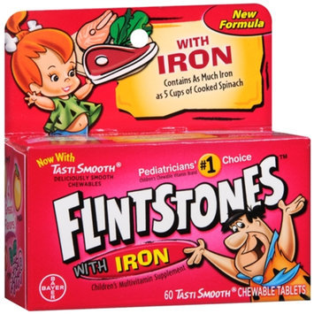Flintstones Children's Multivitamin With Iron Chewable Tablets