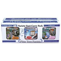Pine Tree Farms Inc 3 Flavor Suet Pack Assorted 12 Pack VP6200