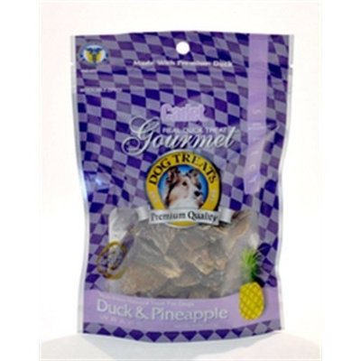 Cadet Duck and Pineapple Treat for Dogs, 4-Ounce Bag