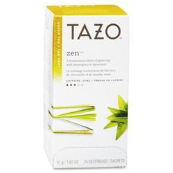 Starbucks SBK149900 Tazo Zen Green Tea Pack of 24