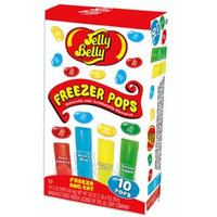Jelly Belly Assorted Flavors Freezer Pops, 10-Count (Pack of 12)