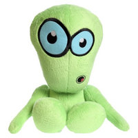 Hear Doggy! Hear Doggy Martians Chew Toy - Green (Large)