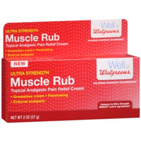 Walgreens Muscle Rub Pain Relief Cream, 2 oz