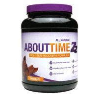 About Time Zz Nighttime Recovery Formula Chocolate - 2 lbs