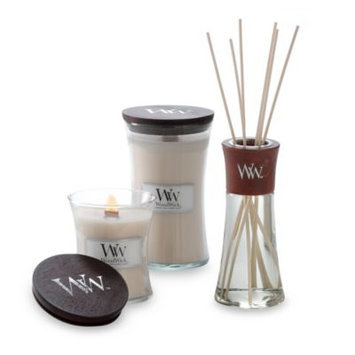 WoodWick Vanilla Bean 22-Ounce Jar Candle