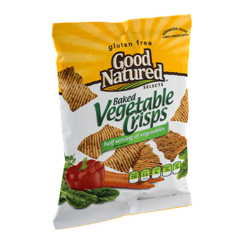 Good Natured Selects Gluten Free Baked Vegetable Crisps