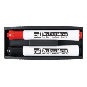 Charles Leonard Co. Charles Leonard CHL74532 Magnetic Whiteboard Eraser With Two