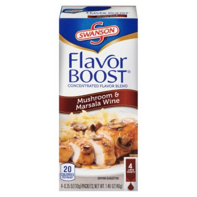 Campbell's Swanson Soup Company Flavor Boost Mushroom & Marsala Wine