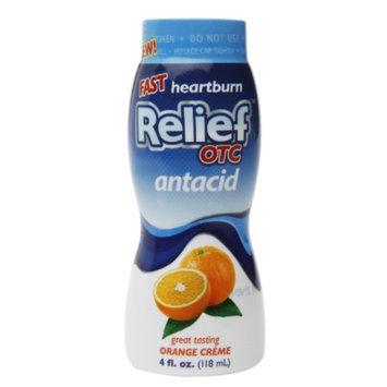 Relief OTC Antacid, Orange Creme