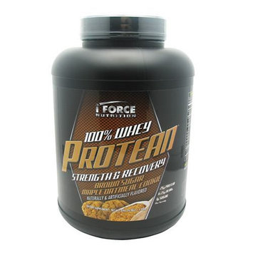 Iforce Nutrition 2650122 100 Percent Whey Protean Brown Sugar Maple Oatmeal Cookie