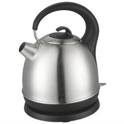 Sunpentown 1.7 Liter Cordless Electric Kettle, Stainless Steel