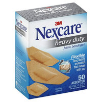 3M Nexcare Heavy Duty Flexible Fabric Bandages Assorted 50 Each