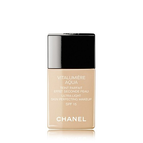 Chanel Vitalumiere Aqua Ultra-Light Skin Perfecting Sunscreen Makeup SPF 15