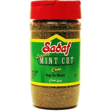 Sadaf Mint Cut Leaves, 2.5-Ounce (Pack of 5)