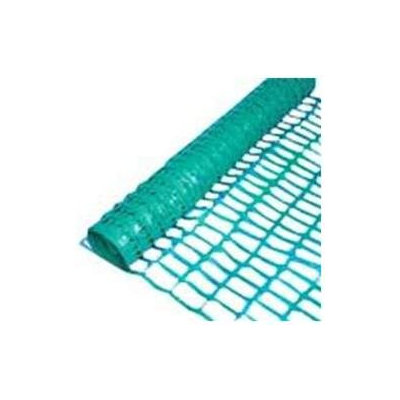 Mutual Industries 110064 4-Ft. X 50-Ft. Oval Mesh Safety Fence, Green