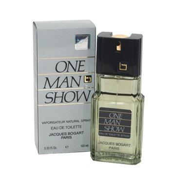 One Man Show By Jacques Bogart For Men. Eau De Toilette Spray 3.3 Oz