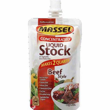 Massel Beef Style Concentrated Liquid Stock, 3.88 oz, (Pack of 6)