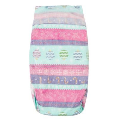 The Honest Co. Winter 2015 Prints Honest Diapers - Size 5 (27lbs+) - Holiday Sweater