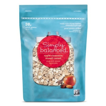 Simply Balanced Bagged Apple Cinnamon Muesli 12 oz