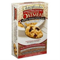 Glutenfreeda Instant Oatmeal Maple Raisin - 6 Packages