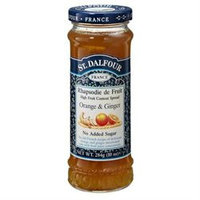 St. Dalfour All Natural Marmalade Ginger and Orange - 10 oz